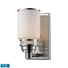 ELK Lighting 11264/1-LED - Bryant 1 Light LED Vanity In Satin Nickel And Op