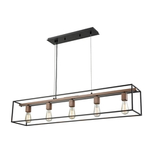ELK Lighting 14463/5 - Rigby 5 Light Chandelier In Oil Rubbed Bronze An