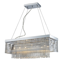 ELK Lighting 30020/12 - Cortina 12 Light Chandelier In Polished Chrome