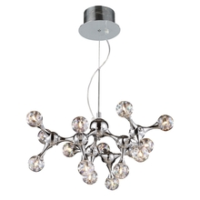 ELK Lighting 30025/15 - Molecular 15 Light Chandelier In Chrome And Irid