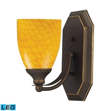 ELK Lighting 570-1B-CN-LED - Bath And Spa 1 Light LED Vanity In Aged Bronze A