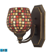 ELK Lighting 570-1B-MLT-LED - Bath And Spa 1 Light LED Vanity In Aged Bronze A