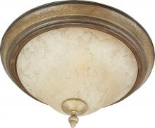 Maxim 11250FIGC - Two Light Brown Bowl Flush Mount