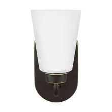 Sea Gull 4115201-782 - One Light Wall / Bath Sconce