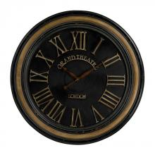 Sterling Industries 130-006 - Grand Theatre Large Clock Wth Distressed Handpainted Frame
