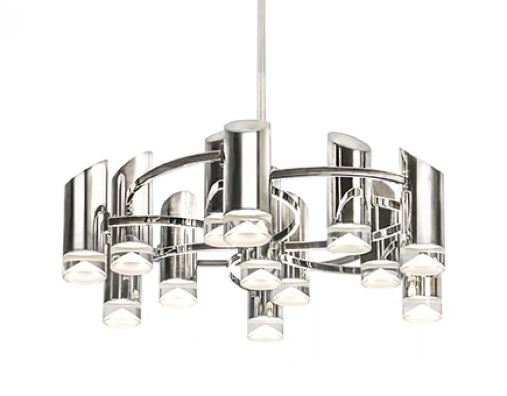 Berlin - Chandelier with Electroplated Aluminum and Steel  sc 1 st  Statewide Lighting & Berlin - Chandelier with Electroplated Aluminum and Steel : CH9830 ... azcodes.com