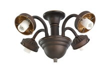 Monte Carlo MC183RB-L - 4 Light Fitter - Roman Bronze