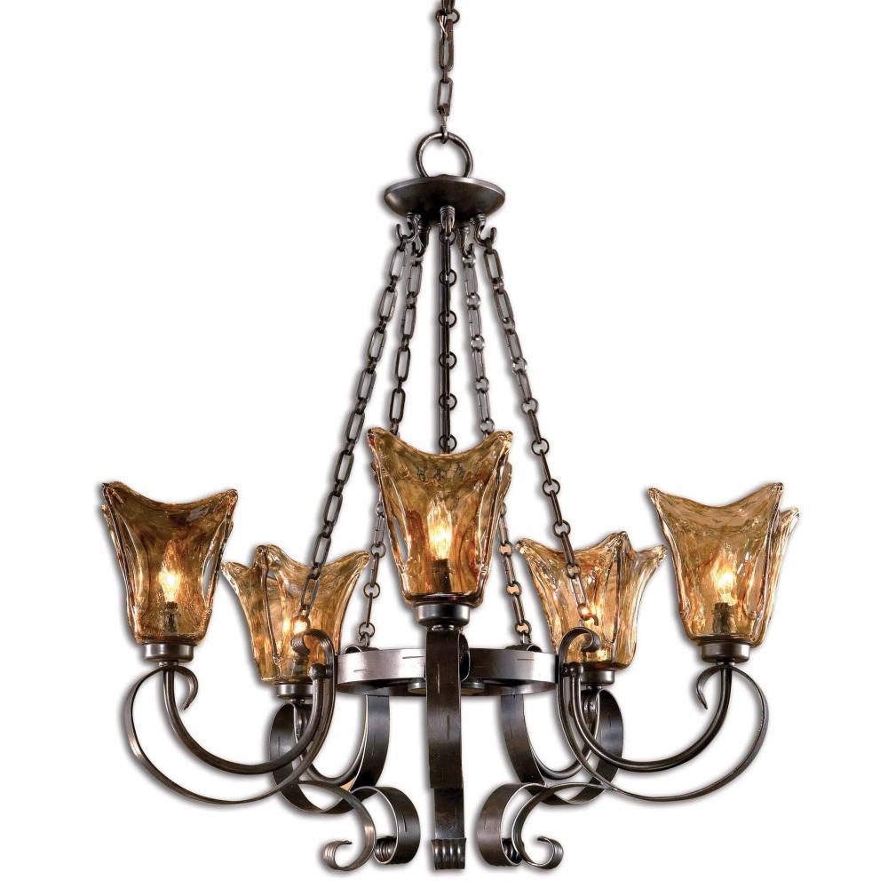 Uttermost Vetraio 5Lt Oil Rubbed Bronze Chandelier  sc 1 st  Statewide Lighting & Uttermost Vetraio 5Lt Oil Rubbed Bronze Chandelier : 21007 ... azcodes.com