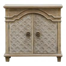 uttermost uttermost allaire french country accent cabinet