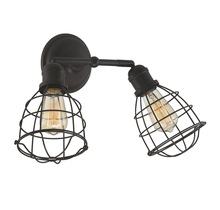 Savoy House 8-4138-2-13 - Scout 2 Light Adjustable Sconce