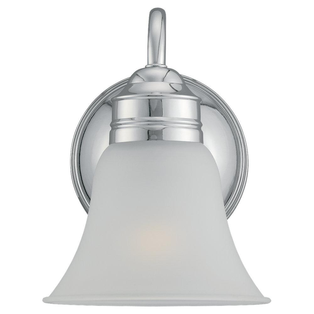 One Light Wall Bath Sconce Statewide Lighting - Single sconce bathroom lighting