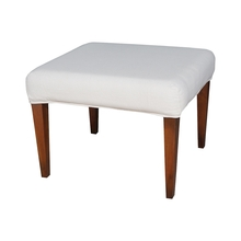 Elk Home 7011-120-E - Couture Covers Single Bench Cover - Pure White