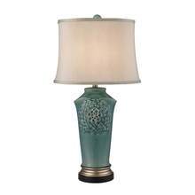 Elk Home D2626 - Organic Flowers Table Lamp in Seafoam Finish